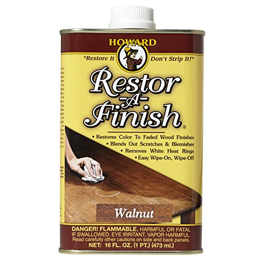 Howard Products RF4016 Restor-A-Finish, 16 oz, Walnut