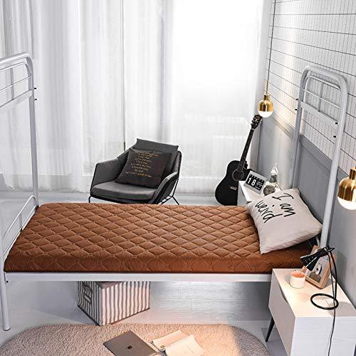 ZUSFUL Tatami Colchoneta de Dormir Plegable Colchón para Dormitorio de Estudiantes Cojín para Dormir Portátil para Niños Colchón de Camping 90×190cm,B,150×200cm