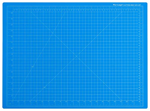 """Dahle Vantage 10692 Self-Healing 5-Layer Cutting Mat Perfect for Crafts and Sewing 18"""" x 24"""" Blue Mat"""