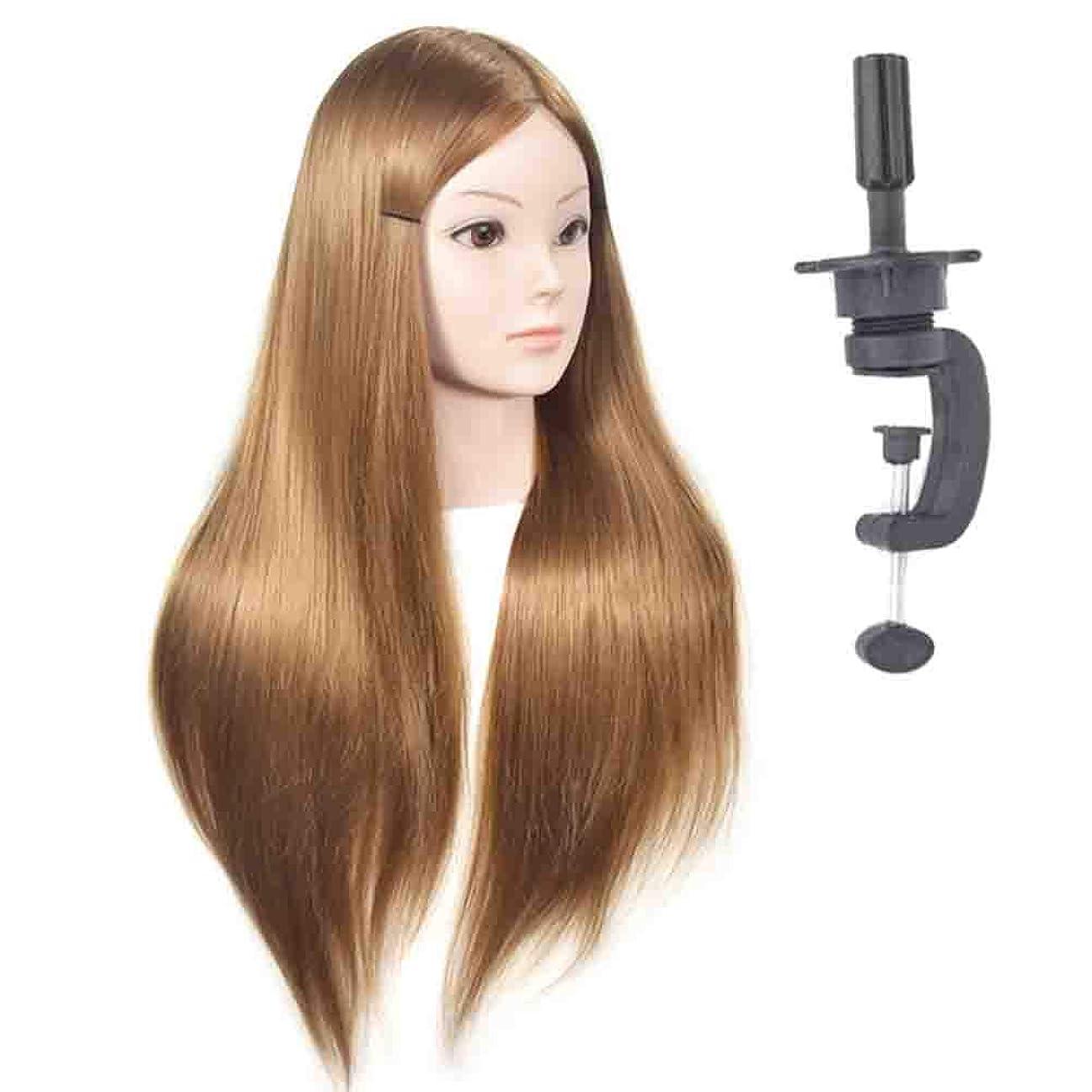 技術的な朝の体操をする窓ゴールデンプラクティスマネキンヘッドブライダルメイクスタイリングプラクティスダミーヘッドヘアサロン散髪指導ヘッドは染めることができます漂白