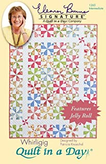 Quilt in a Day Eleanor Burns Quilt Pattern, Whirligig Quilts