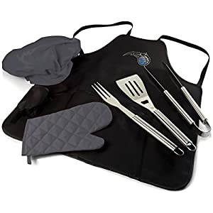 NBA unisex BBQ Apron Tote Pro with Tools