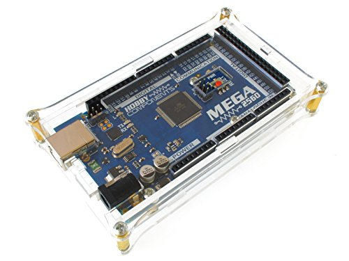 Hobby Components Ltd Low profile Perspex Case For Arduino Mega