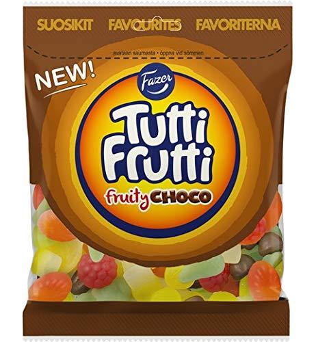 Ultra-Cheap Deals Fazer Tutti Frutti Fruity Choco 170g New color Gummy of 4 Packs
