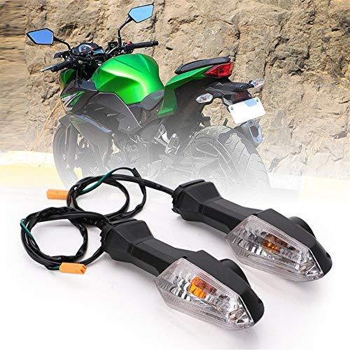 FDNFG Motorradlenklichtblinker for Kawasaki Z250 Z750 Z800-Z1000 Ninja ER6 universal Sonnenbrille