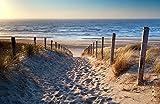 Bilderdepot24 Fototapete selbstklebend Schöner Weg zum Strand III - 230x150 cm