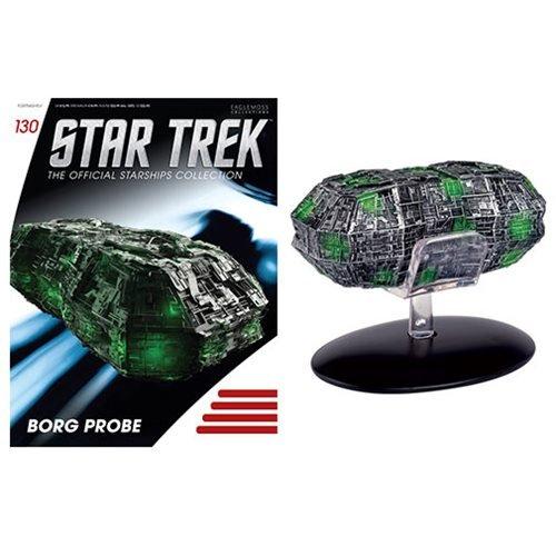 Eaglemoss Sammlung von Raumschiffen Star Trek Starships Collection Nº 130 Borg Probe
