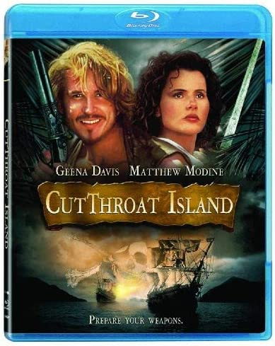 Cutthroat Island Blu ray product image