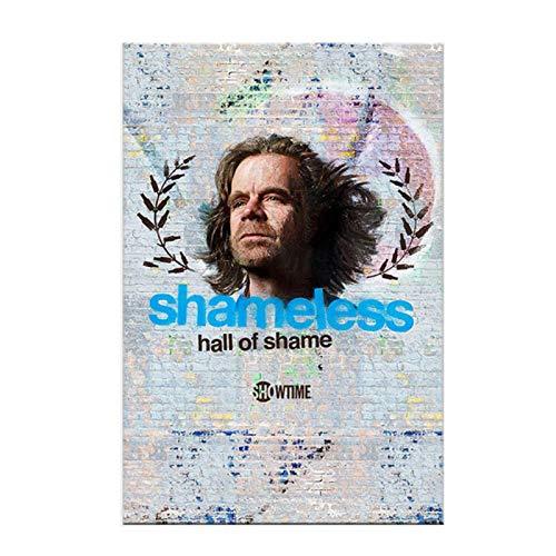Serie de televisión Drama Shameles Salón de la fama Impresión de carteles Decoración de pintura en lienzo-Múltiples opciones de tamaño (Enmarcado/Sin marco)