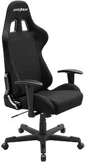 DXRacer OH/FD01/N Black Formula Series Gaming Chair Ergonomic High Backrest Office Computer Chair Esports Chair Swivel Tilt and Recline with Headrest and Lumbar Cushion + Warranty