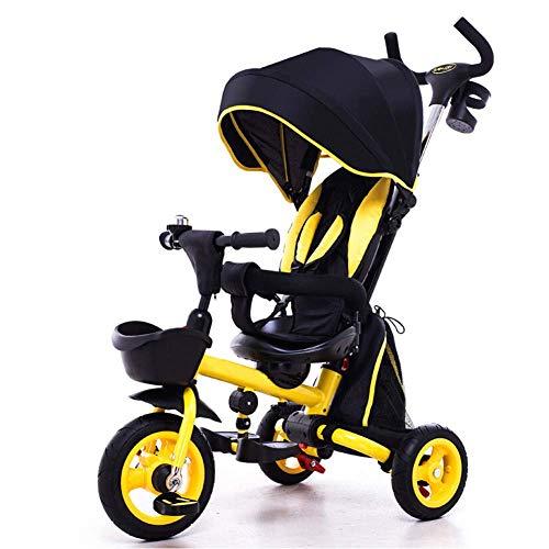 HYLH Triciclo para Niños De 1 A 3 Años, Triciclo Infantil Triciclo...