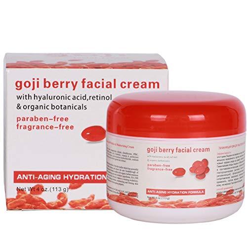 Whitening Cream, feuchtigkeitsspendende Goji-Beeren-Creme, Face Instant Whitening Cream Lotion Moisture Dark Skin White Enhanced Bosixty