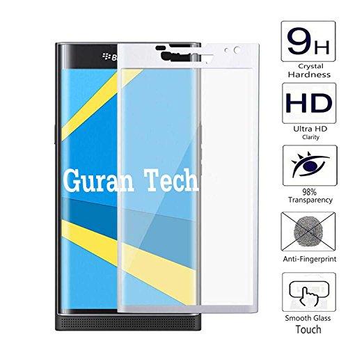 Guran 3D Full Coverage Farbe Displayschutz Glasfolie für Blackberry Priv Smartphone Screen Bildschirm Hartglas Schutzfolie Film