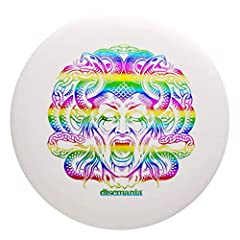Colors may vary Limited Edition Evolution Glow Lumen Hard Plastic Flight Ratings: Speed 2, Glide 3, Turn 0, Fade 1 Features a special edition Halloween Medusa Hot Stamp