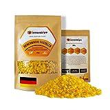 Bienenbiya® 100% Reine Bienenwachs Pastillen (400g) ohne Zusatzstoffe, 400g natürliches Bio...