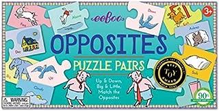 eeBoo Puzzle Pairs - Opposites by eeBoo
