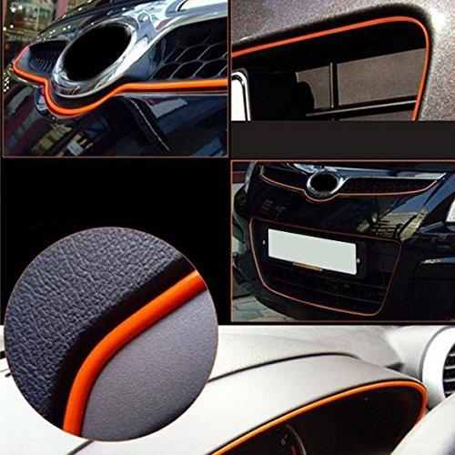 Car Interior Mouldings - 120 Inch 3m Universal Interior Exterior Molding Trim - Interior Moulding Trim Strip Exterior Decorations Accessories Automotive Paint Decoration Sticker - 1PCs