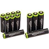 Amazonベーシック 充電池 充電式ニッケル水素電池 単4形8個セット (最小容量800mAh、約1000回使用可能) & 充電池 充電式ニッケル水素電池 単4形4個セット (最小容量750mAh、約1000回使用可能)