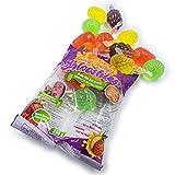 Juicy Jelly Splooshies- Fruity Bite Size Snacks (seen on TikTok) 350g Assorted Flavors, Fruit Bite Challenge