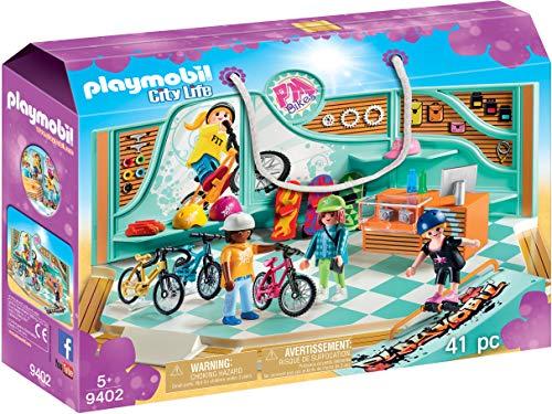 PLAYMOBIL  Tienda de Bicicletas y Skate