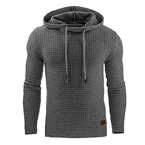 Crazyfly - Sudadera con capucha para hombre con capucha y capucha para hombre