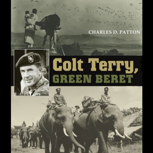Colt Terry, Green Beret audiobook cover art
