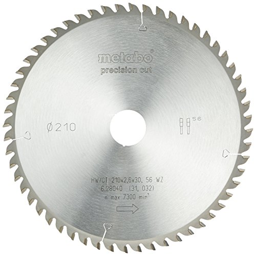 Metabo 628040000 HW/CT 210X30 56 WZ Circular Saw-Blade, Green