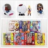 Dragon Ball Z Figura de Dragonball Super Saiyan Son Goku Vegetto Vegeta Trunks Figura de PVC Juguete...