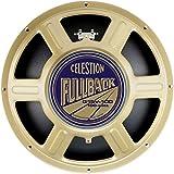 Altavoz Celestion de 15' con chasis de acero prensado, bobina de 2,5' en cobre redondo y magneto cerámico
