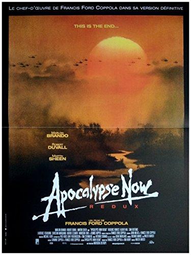 Apocalypse Now Redux Affiche Cinéma Originale Petit Format (53x40 cm Pliée) R1990
