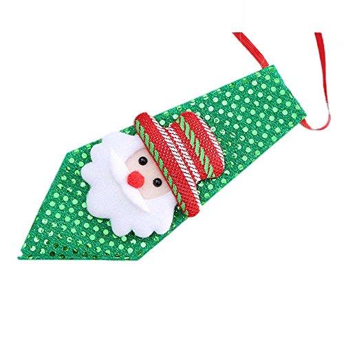 STYLEEA Weihnachtsfeier Einstellbare Kinder Spielzeug Pflege Fliege Krawatte Kleidung FüR Kinder Erwachsene