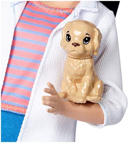 Poupée Barbie Vétérinaire Carrière Pet - 3