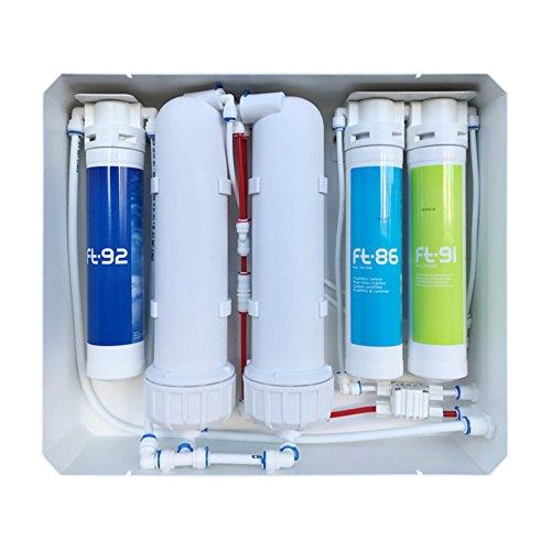 Stromlose Direct Flow Umkehrosmose-Trinkwasseranlage AORA 1.200 GPD. Made in Germany. Trinkwasseranlage Trinkwasserfilter Osmosefilter Membranfilter Osmoseanlage Wasserfilter