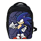 MIAOGOU Sac Sonic Lightning Rat Sonic Bag Jardin D'Enfants Grand, Moyenne Et Petite Classe Garçons Et Filles Sac À...