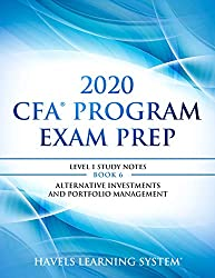 in budget affordable CFA 2020 Exam Preparation Level 1: 2020 CFA Level 1, Book 6: Alternative Investment and…