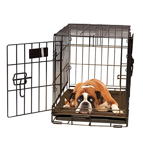 K&H Pet Products Self-Warming Crate Pad Mocha Large 25 X 37 Inches