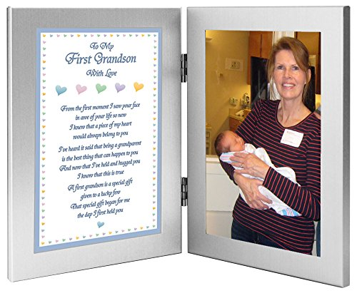 할머니 또는 할아버지의 첫 손자 선물-사진 추가