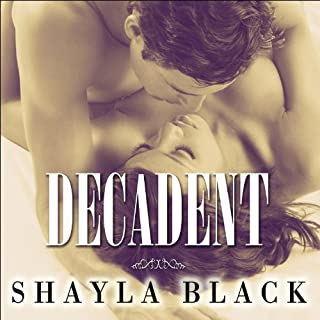 Decadent audiobook cover art