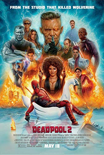 Tainsi Once Upon a Deadpool 2 Poster 30 x 46 cm