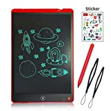 LCD Writing Tablet 12 Inch Handwritten Pen Intelligent Paper, Suitable for Family, School, Office, Children and Adults Writing Board, Lock Erase Button,Electronic Writing Doodle Pad Digital Drawing