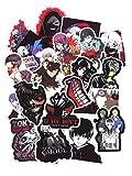 ⭐Top Aufkleber! ⭐ Set von 50 Aufkleber Tokyo Ghoul - Premium Qualität - Vinyls Stickers Nicht...