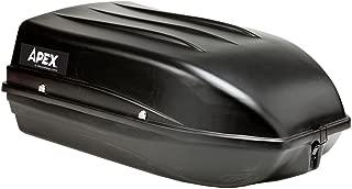 Apex RTB-9 Black Roof Box-9 Cubic Feet
