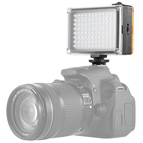 Apore LED dimmerabile ultra alta Power Panel fotocamera digitale/videocamera luce video lampada per fotocamere Canon, Nikon, Pentax, Panasonic, Sony,