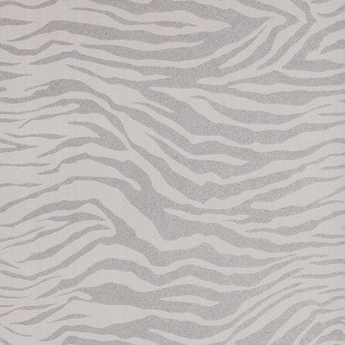 Graham & Brown Vlies-Tapete'Zebra' Kollektion Pearl, mehrfarbig, 20-124