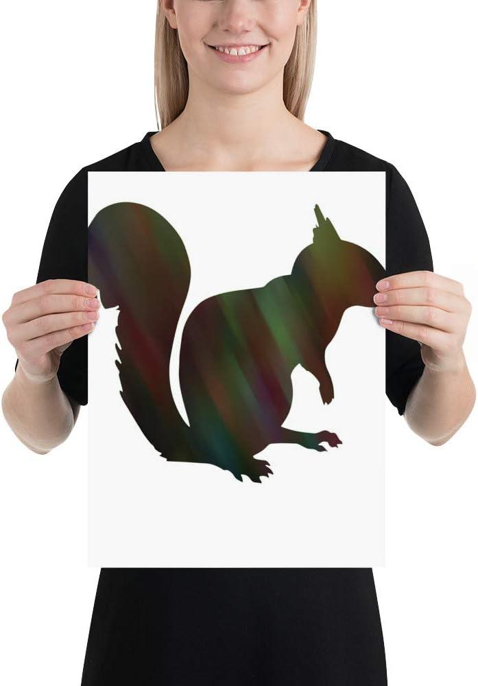 Squirrel 375 2 Deluxe Popular Poster