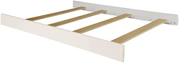 Full Size Conversion Kit Bed Rails for Dream on Me Cribs (White)