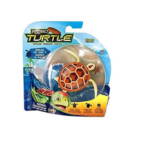 Robot Turtle - Marrone