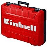 Einhell Koffer E-Box M55/40 für universelle Aufbewahrung von Werkzeug und Zubehör (weiches Schaumstoff-Innenfutter für verkratzungsfreien Transport, spritzwassergeschütztes Design, max...