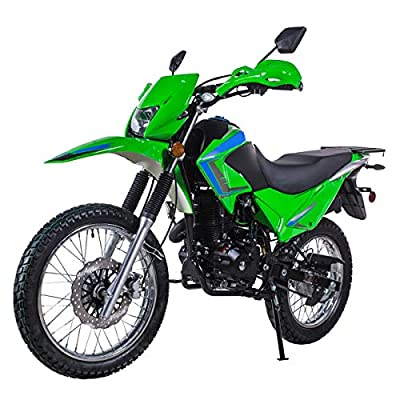X-PRO 250 Motorcycle Scooter Gas Moped Scooter 229cc Adults Motorcycle Street Scooter,Green from X-Pro