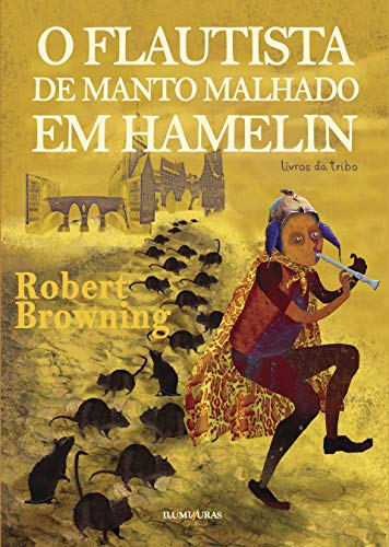 O flautista de manto malhado em Hamelin